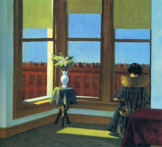 Room in Brooklyn, 1932 - Edward Hopper
