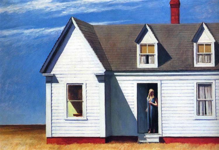 High Noon, 1949 - Edward Hopper