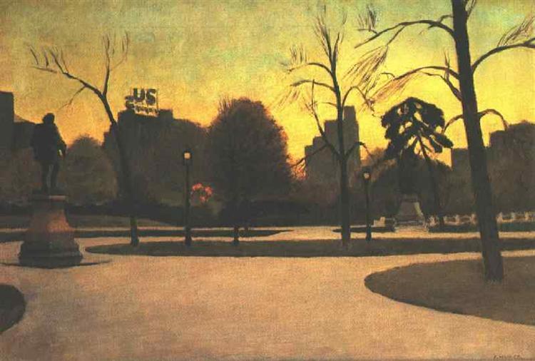 Shakespeare at Dusk, 1935 - Edward Hopper