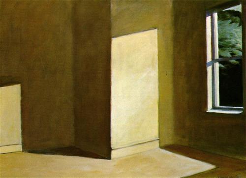 Sun in an Empty Room - Edward Hopper