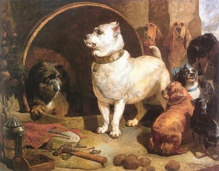 Alexander and Diogenes, 1848 - Edwin Henry Landseer