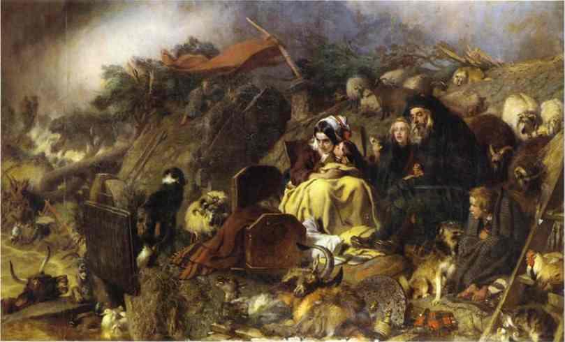 Flood In The Highlands 1860 Edwin Henry Landseer