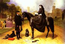 Queen Victoria at Osborne House - Эдвин Генри Ландсир