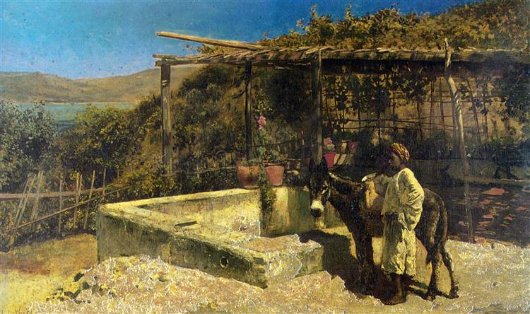 By The Well, 1880 - Edwin Lord Weeks