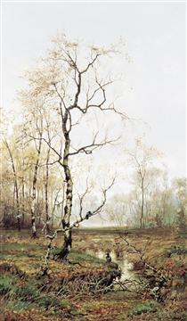 In Forest after Spring - Ефим Волков