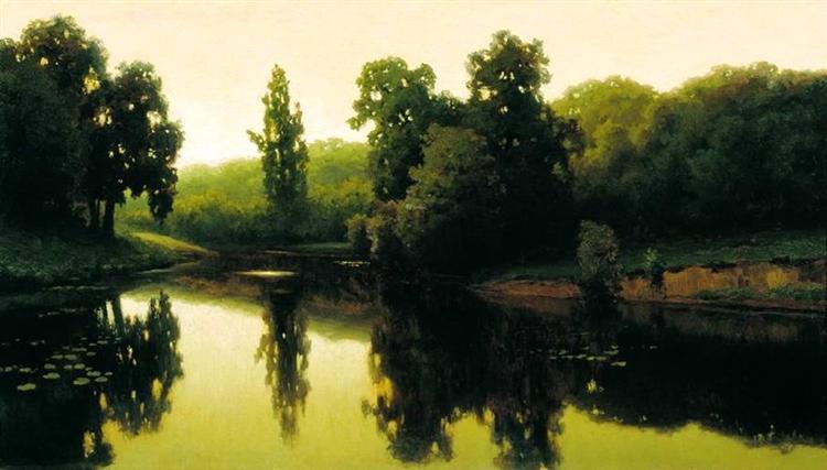 Warm Evening - Efim Volkov