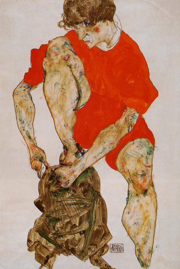a biography of egon schiele a german artist