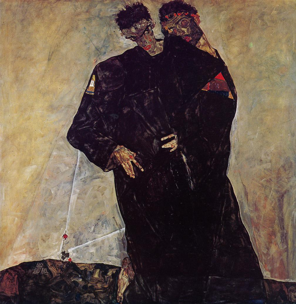 http://uploads4.wikipaintings.org/images/egon-schiele/hermits-1912.jpg