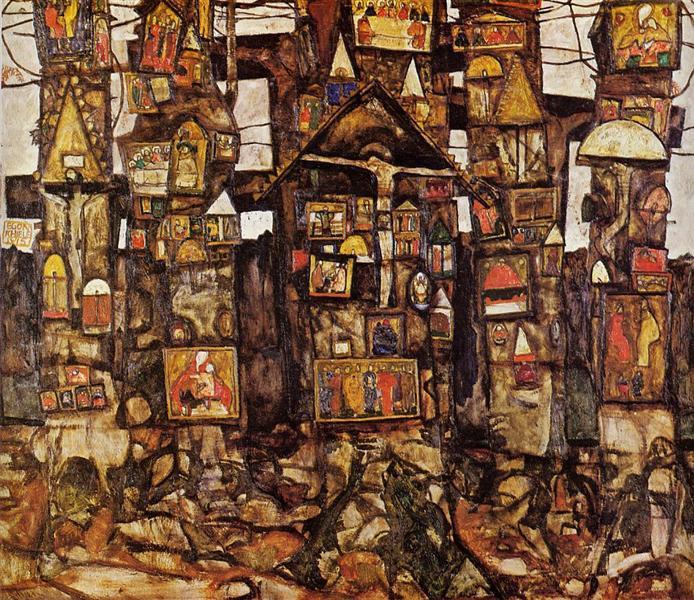 Woodland Prayer, 1915 - Egon Schiele