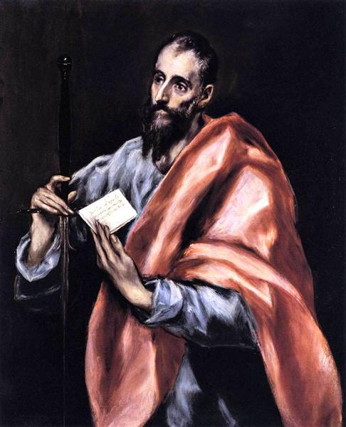Apostle St. Paul, c.1612 - El Greco