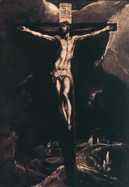 Christ on the cross, 1587 - El Greco