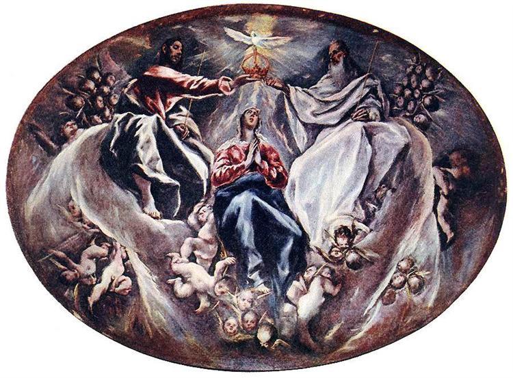Coronation of the Virgin, c.1604 - El Greco