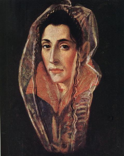 Female portrait, c.1595 - El Greco