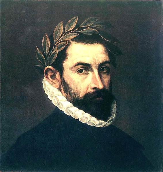 Poet Ercilla y Zuniga by El Greco, c.1595 - El Greco