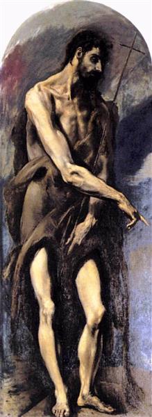 St. John the Baptist, 1579 - El Greco