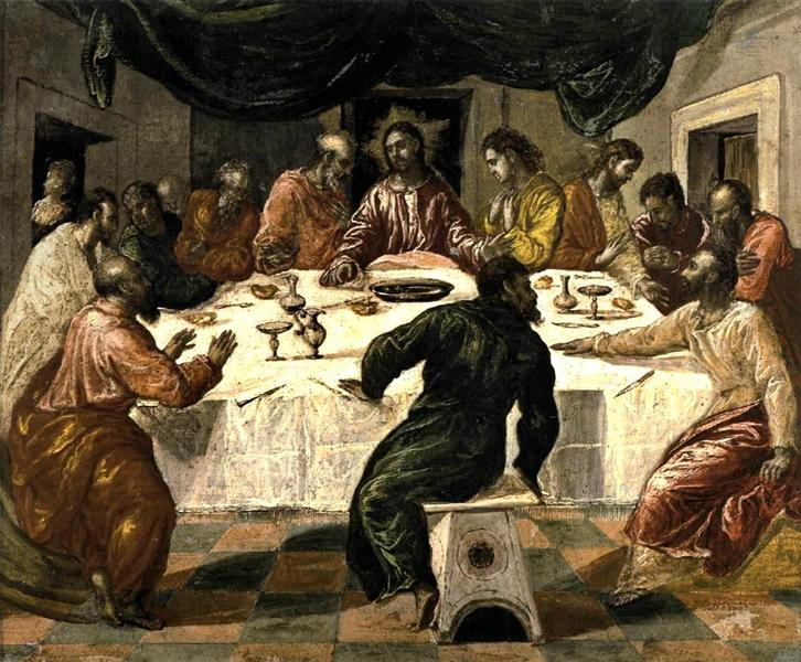 The Last Supper, c.1568 - El Greco