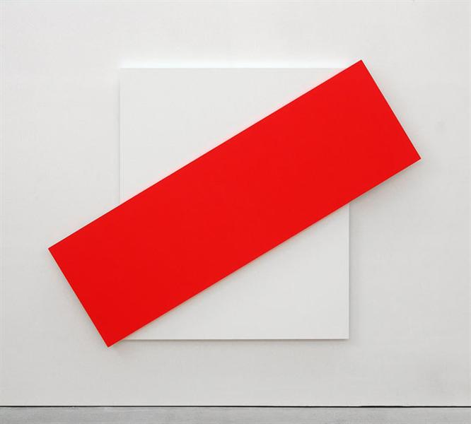 Red Diagonal - Ellsworth Kelly