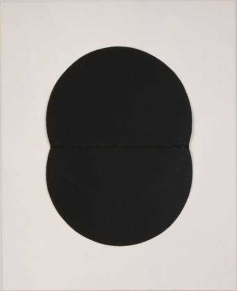 Study for White Plaque. Bridge Arch and Reflection, 1951 - Ellsworth Kelly