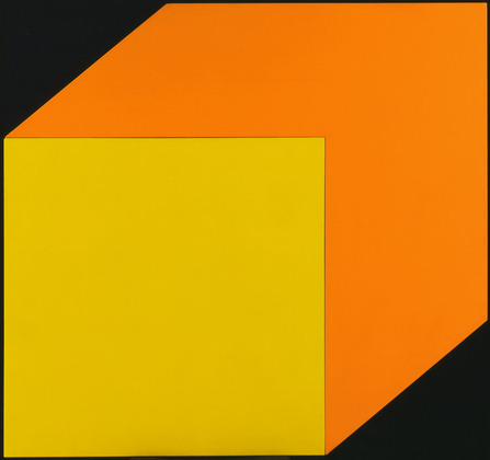 Yellow Orange, 1968 - Ellsworth Kelly