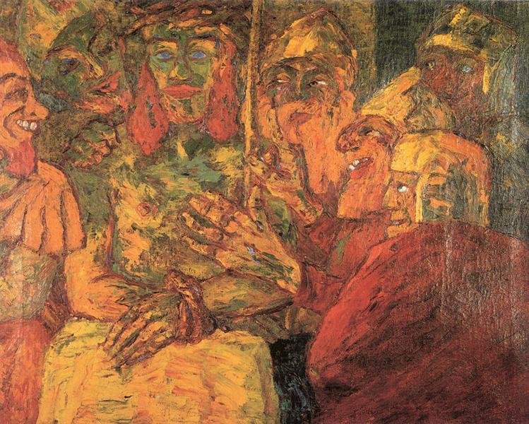 Mocking of Christ, 1909 - Emil Nolde
