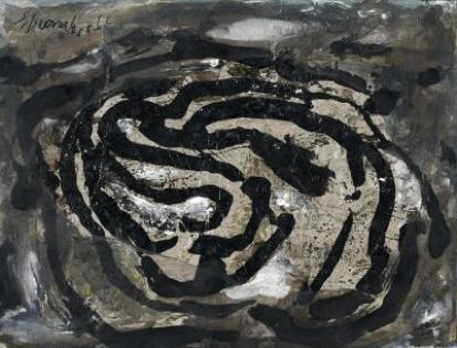 Untitled (EL X), 1966 - Emil Schumacher