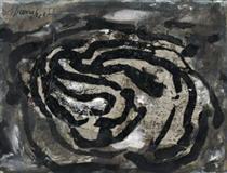 Untitled (EL X) - Emil Schumacher