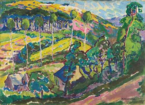 Brittany Landscape, 1911 - Emily Carr