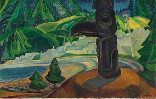 Skidegate, 1928 - Emily Carr