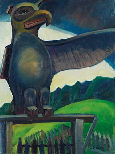Thunder Bird, Campbell River, 1929 - Emily Carr