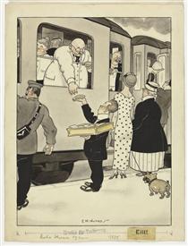 Untitled (published in Meggendorfer Blätter, N.º1646, 13-7-1922) - Emmerico Nunes