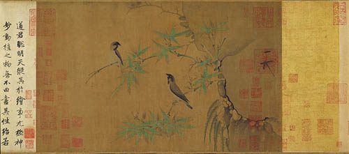 Finches and Bamboo - Song Huizong