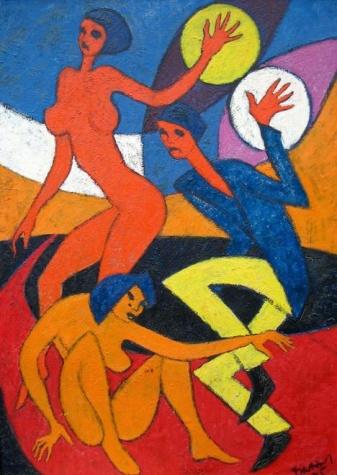 Dancers, 1975 - Endre Bartos