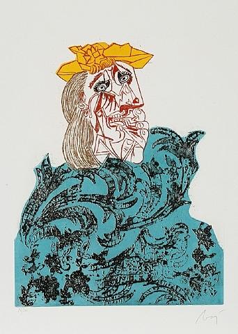 Baj Chez Picasso 1, 1969 - Enrico Baj