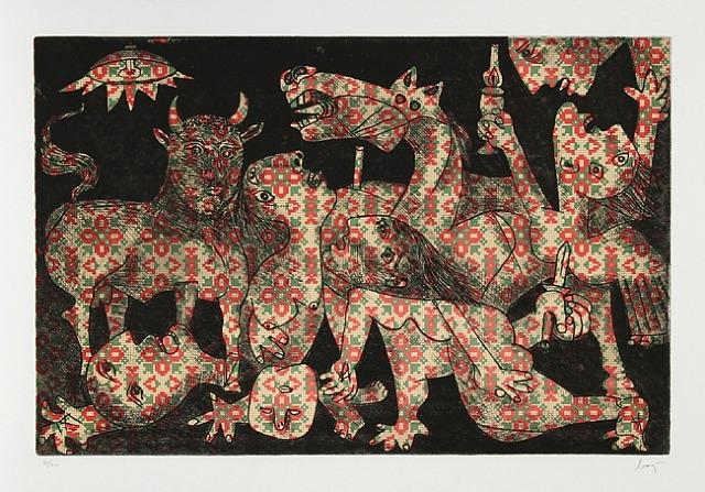 Baj Chez Picasso 2, 1969 - Enrico Baj