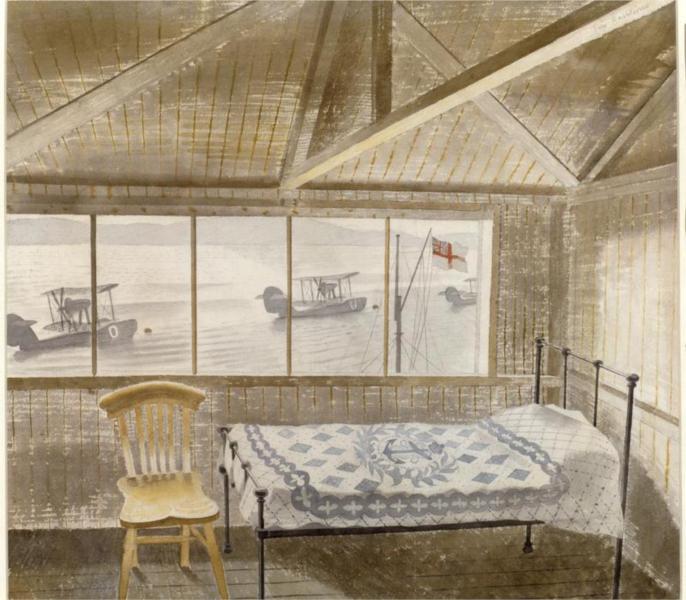 RNAS Sick Bay, Dundee, 1941 - Ерік Равіліус