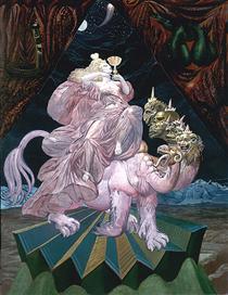 THE WHORE BABYLON - Ernst Fuchs