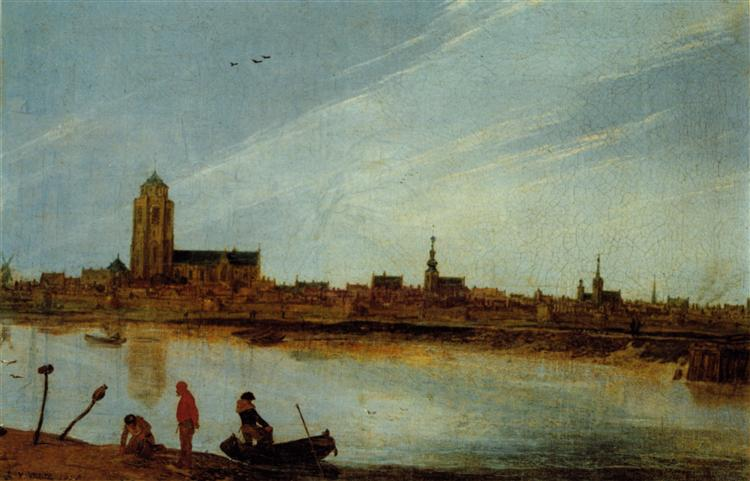 View of Zierikzee, 1618 - Esaias van de Velde