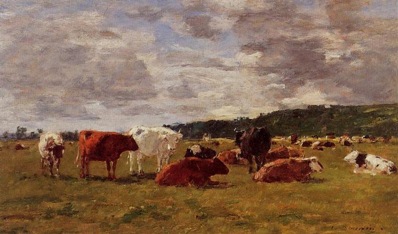 Pasture at Deauville, 1880