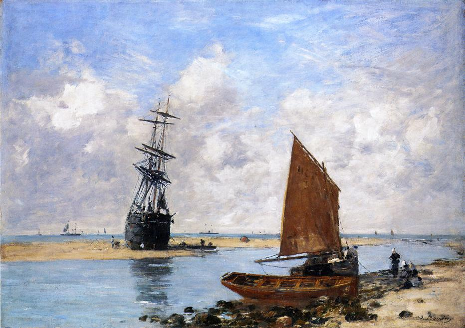The Trouville Chanel, Low Tide, 1880
