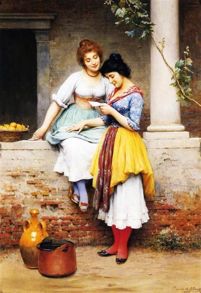 The Love Letter, 1902 - Eugene de Blaas