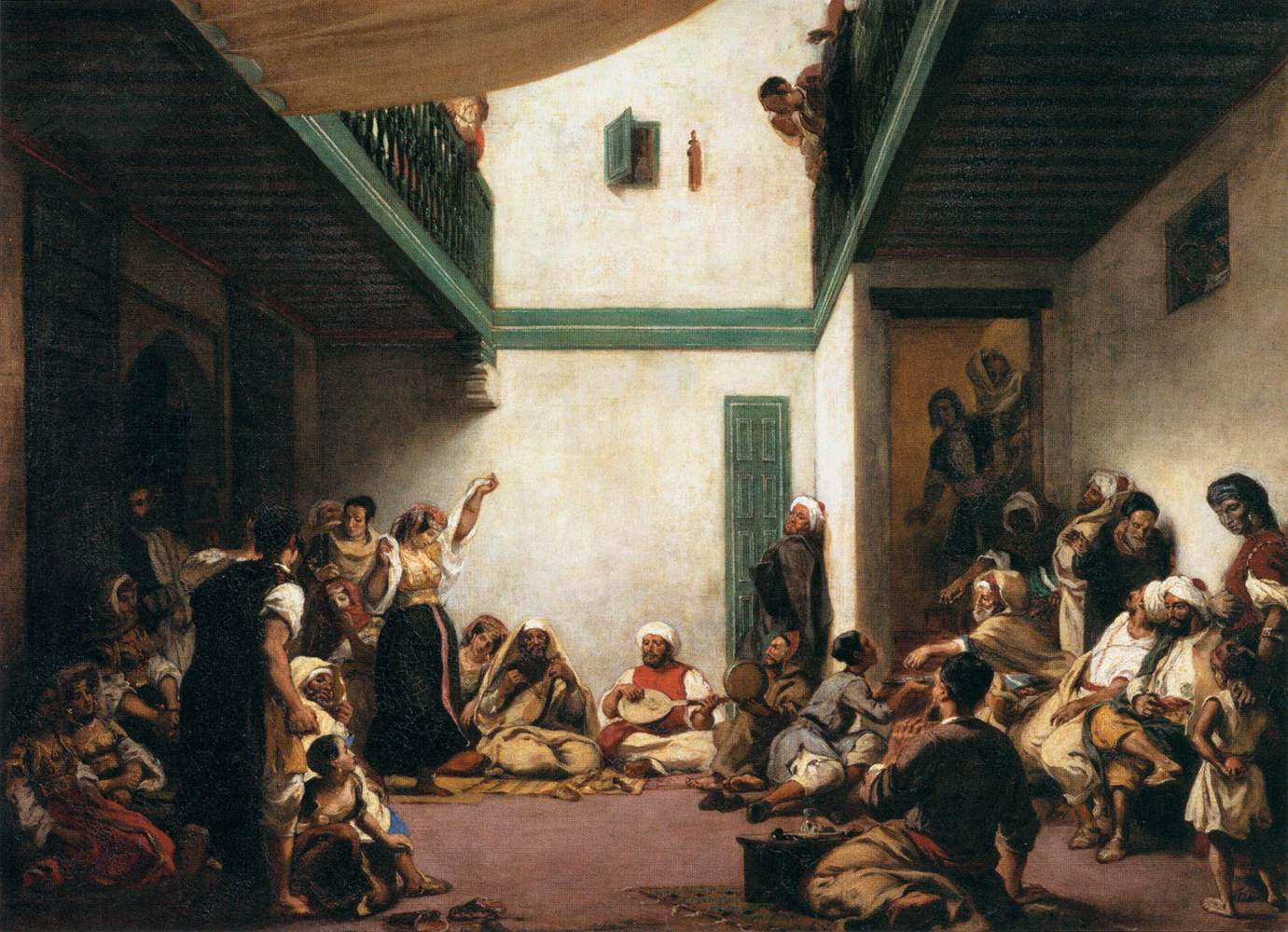 A Jewish Wedding In Morocco 1841 Eugene Delacroix