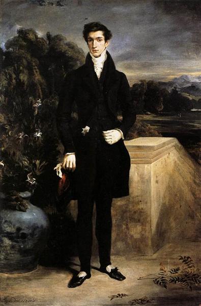 Portrait of Baron Schwiter, 1827 - Eugene Delacroix