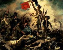 La libertà che guida il popolo - Eugene Delacroix