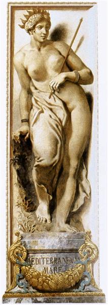 The Mediterranean, 1835 - Eugene Delacroix
