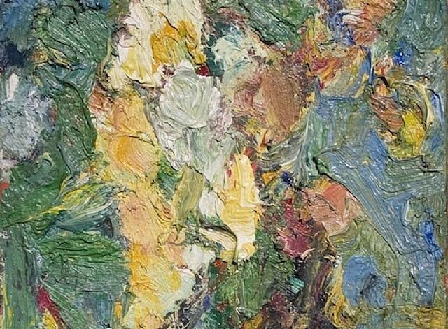 Bouquet de fleur - Eugene Leroy