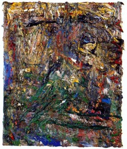 Hortus conclusus, 1993 - Eugene Leroy