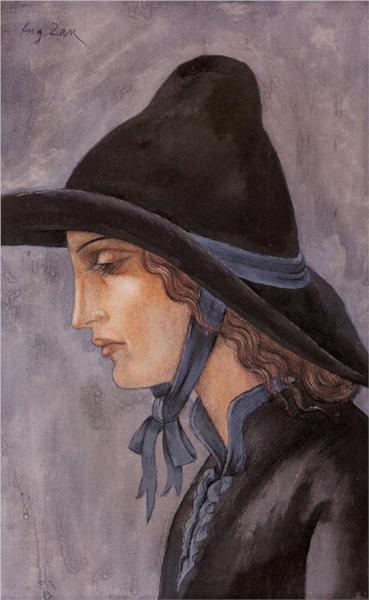 Head of a Woman, 1914 - Eugeniusz Zak