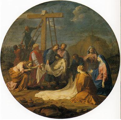 Deposition from the Cross, 1651 - Эсташ Лёсюёр
