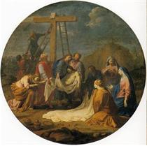 Deposition from the Cross - Eustache Le Sueur