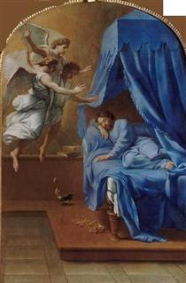 Songe de saint Bruno - Eustache Le Sueur